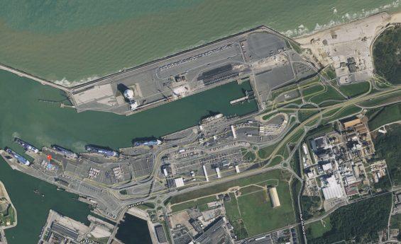 Eclairage du Port de Calais